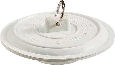 Plumb Pak PP22004 tapón con anillo plateado, para uso con todas las bañeras de lavandería y baño con drenaje de 1-1/2 a 2 ...