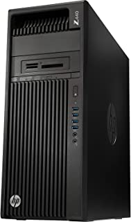 2019 HP Workstation Z440 Business Desktop Computer, Intel Xeon E5-1607 v4 3.1GHz Quad-Core, 8GB DDR4 RAM, 256GB SSD, DVDRW, No Graphics Included, 8X USB 3.0, Keyboard & Mouse, Windows 10 Professional