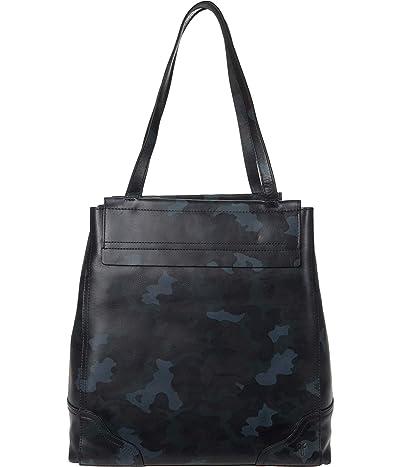 Frye Charlie Simple Tote (Ocean Camo) Handbags