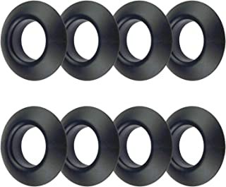 Zelerdo 8 Pack Kayak Paddle Drip Rings for Kayak Canoe Rafting Paddles Shaft