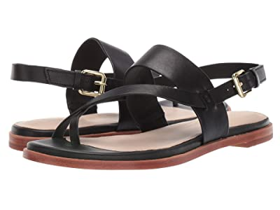 Cole Haan Anica Thong Sandal (Black) Women
