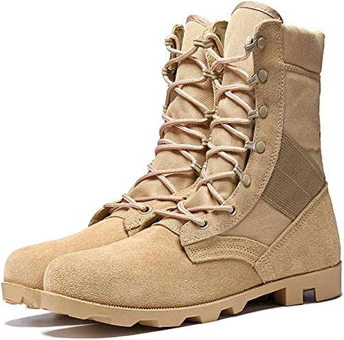 Camouflage Hautes de Noir Tactiques Beige en Chaussures Yvbf6g7y