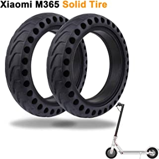 LuYang Solid Tire Replacement for Electric Scooter Xiaomi Mi m365 / gotrax gxl V2,8.5 inches Solid Tires Explosion-Proof Tire for Xiaomi Mijia M365 Electric Scooter/GOTRAX GXL V2 Scooter【Two Piece】