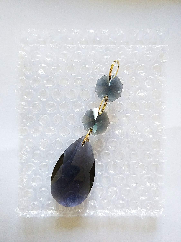 Teardrop Pendants Chandelier Crystal Prisms Pendants Glass ...