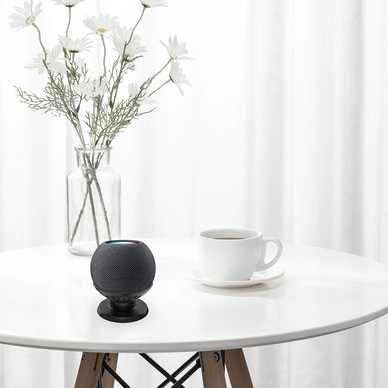 Support de Table pour HomePod Mini Pied de Haut-Parleur Intelligent am/éliore la visibilit/é et lapparence du Son SOKUSIN Compatible avec Le Support de Bureau pour HomePod Mini