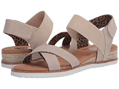 BOBS from SKECHERS Desert Kiss Secret Picnic (Natural) Women