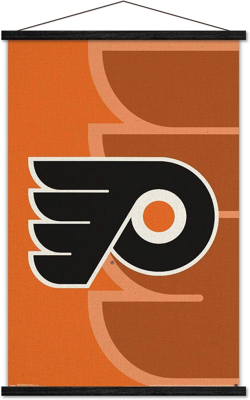 Trends International NHL Philadelphia Flyers Logo San Antonio Mall Ranking TOP1 Post - Wall 14