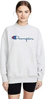 Best champion women's reverse weave script logo crew sweatshirt Reviews