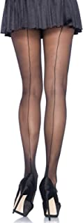 Women's Sheer Cuban Heel Backseam Pantyhose