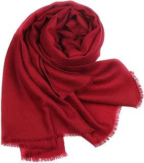 FURTALK Women's Soft Warm Tissue-Weight Wool Scarf Wrap Long Shawl Pure Lambwool Scarves