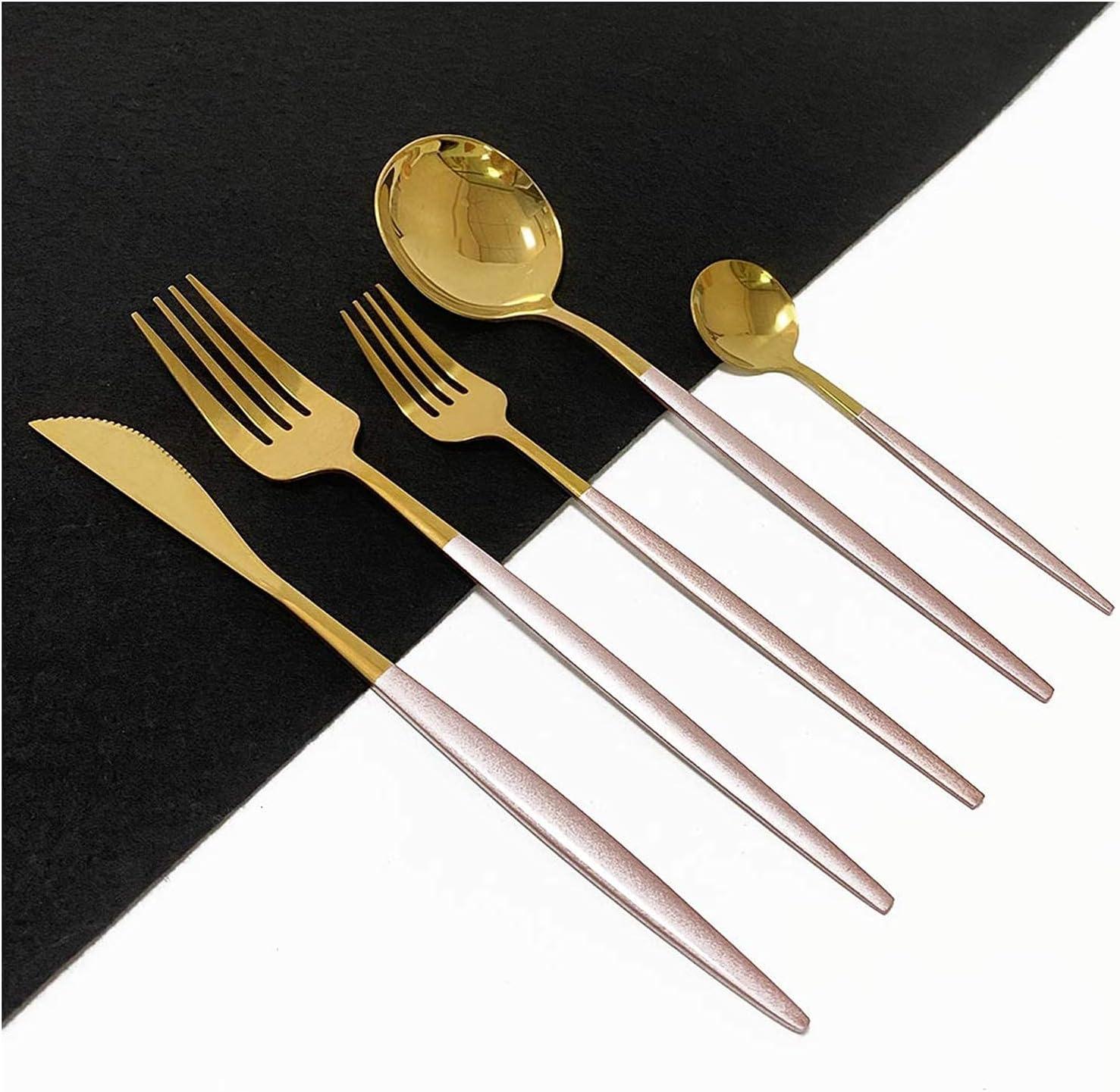 Silverware Set Reusable quality assurance 20-Piece specialty shop Gift