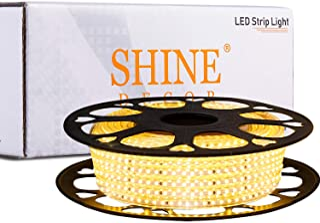 Shine Decor LED Strip Lights Dimmable 50FT,