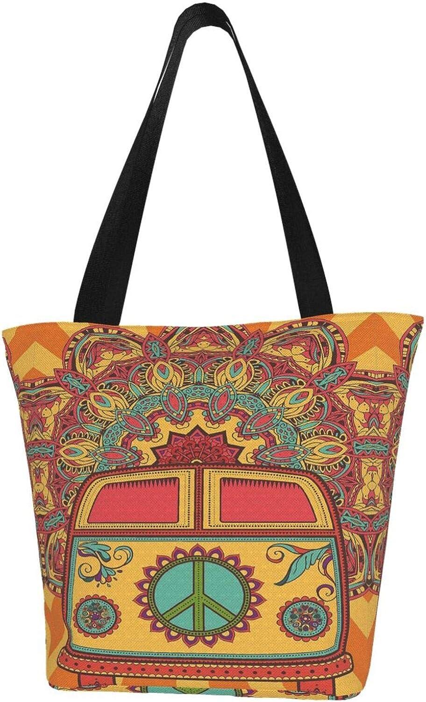 Canvas Tote Bag Quantity limited SALENEW very popular! Handbag Casual with Shoulder Zipper Satchel