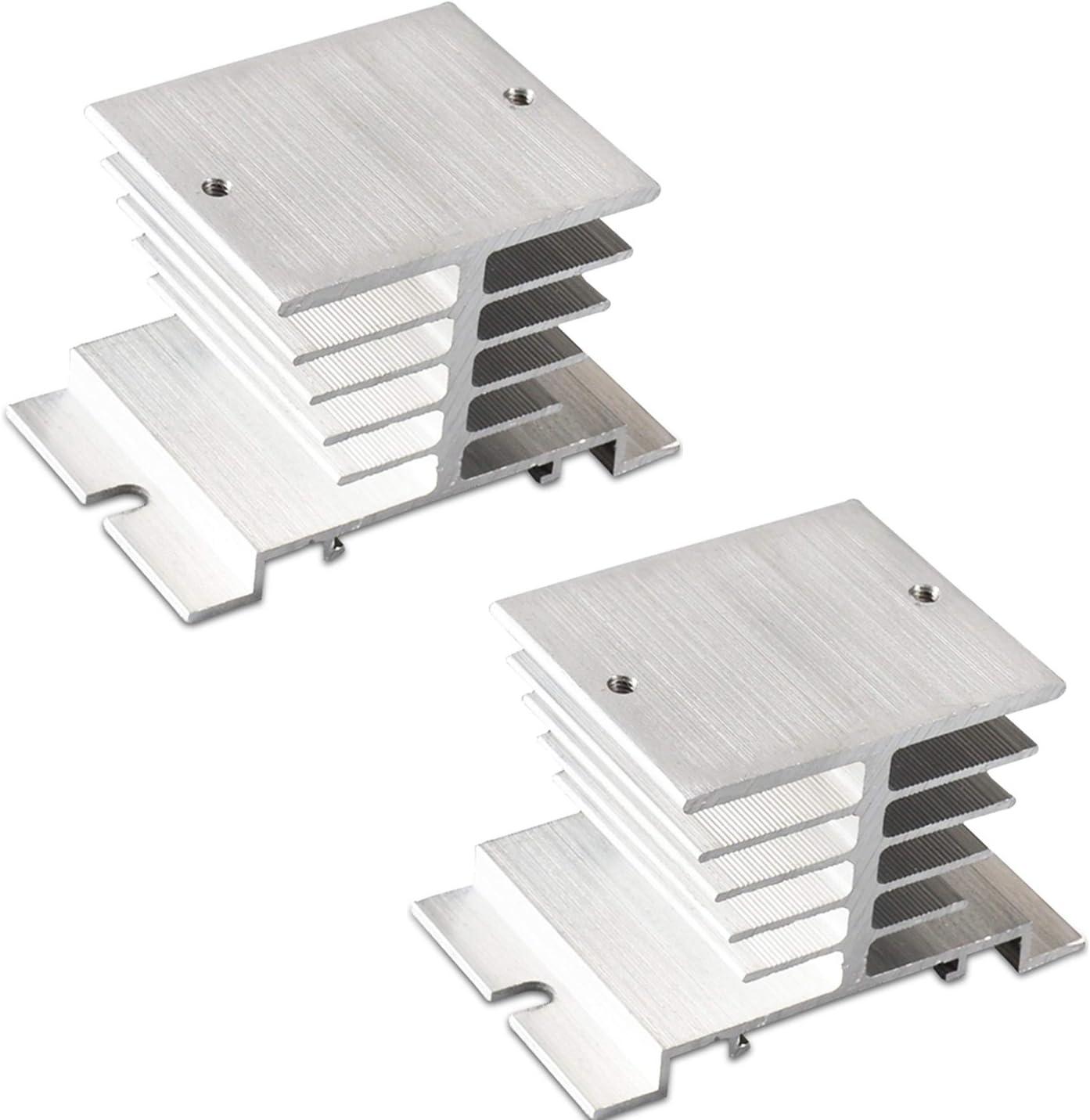 Xiaoyztan 2 Selling Pcs Aluminum Heat Seattle Mall Dissipat Sink Temperature SSR for