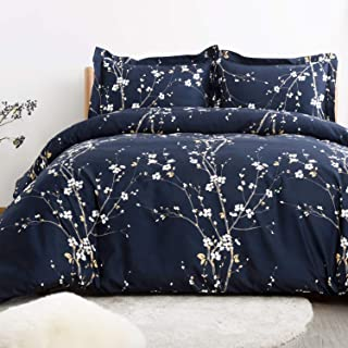 78736ace1b1f Bedsure Spring Bloom Pattern Bedding Set Full/Queen (90