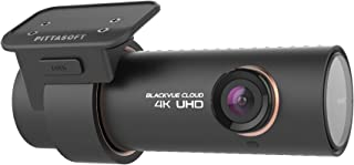 BlackVue DR900S-1CH (32 GB) 4K Ultra HD Connected Wi-Fi Dash Cam with Ultra-Wide Angle 4K UHD Video, Night Vision, Parking...