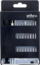 Wiha Conjunto de brocas intercambiáveis de precisão 75992, Torx, com fenda, Phillips, ponta sextavada, alça de precisão se...