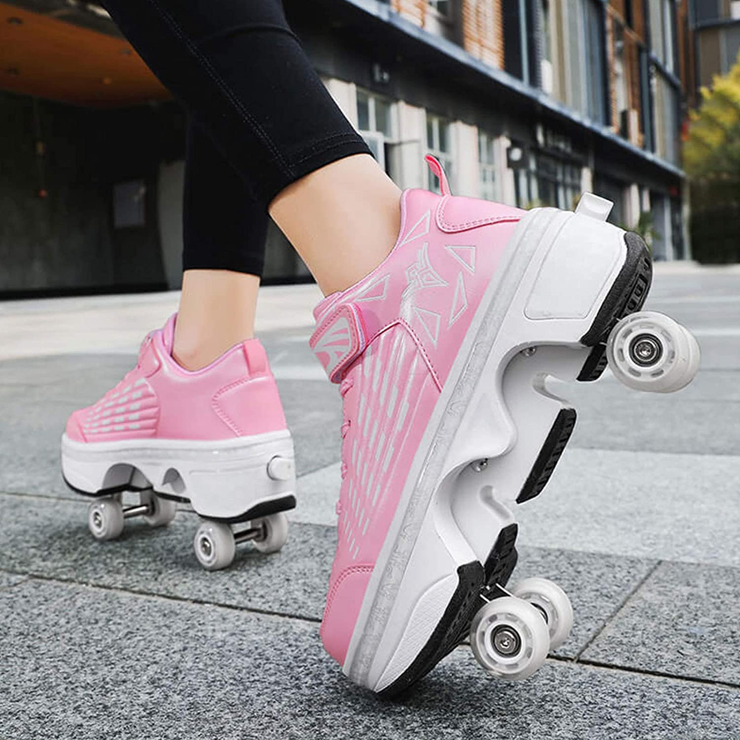 Women Pulley Shoes Superior 2 in Ranking TOP13 Multifunctional Roller Sk 1 Deformation