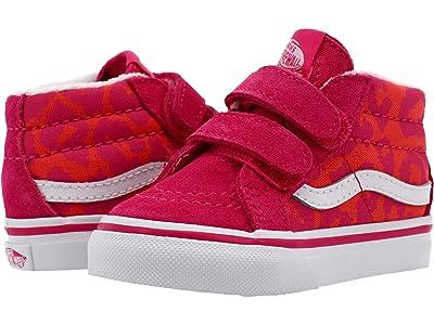 Vans Kids Sk8-Mid Reissue V (Infant/Toddler) ( Girls Shoes