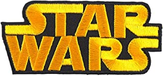 Starwar Logo Comic Legendary Film Patch Embroidered Iron on Patches Sew on Patches Embroidery Applikations Applique for Co...