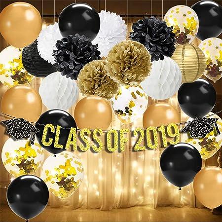 2019 and Star Confetti Graduation Party Decorations 2019 Graduation Confetti 50CT.