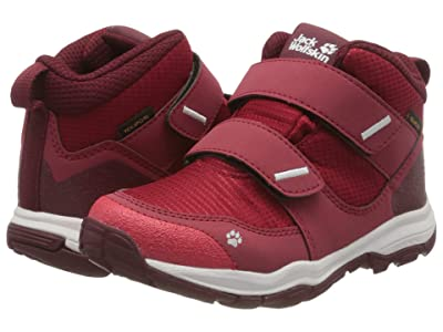 Jack Wolfskin Kids Mountain Attack 3 Texapore Mid VC (Toddler/Little Kid/Big Kid) (Red/Dark Red) Girl