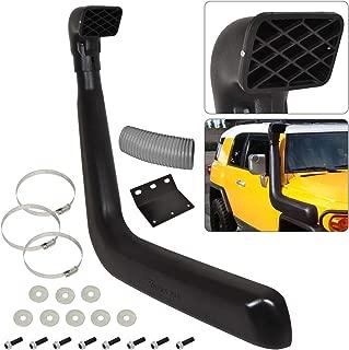 For Toyota Fj Cruiser Black Polyurethane Snorkel Ram Air Cold Intake High Mount 4X4 Off Road Safari