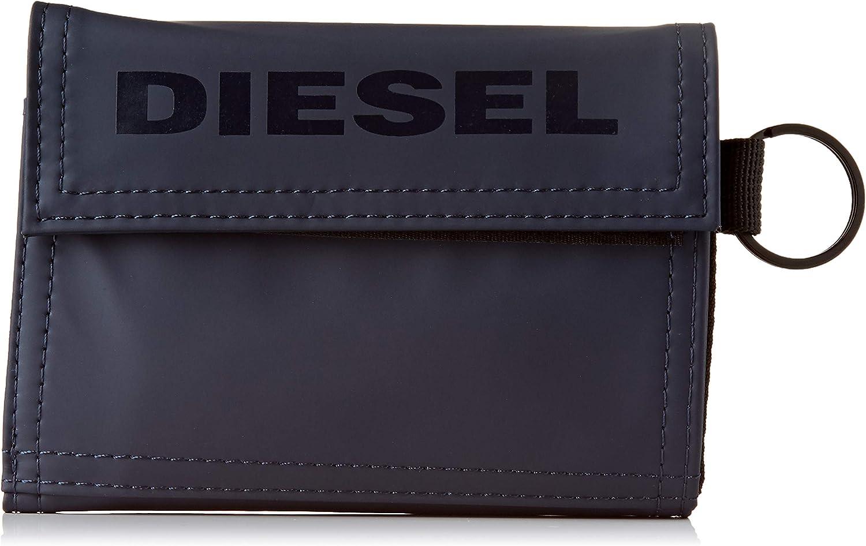 Diesel Yoshi, Bolsa y Cartera para Hombre, Azul (Blue Nights), 5.4x11x13.5 Centimeters (W x H x L)