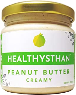 Healthysthan Natural Peanut Butter Creamy (Unsweetened) (200 gram)