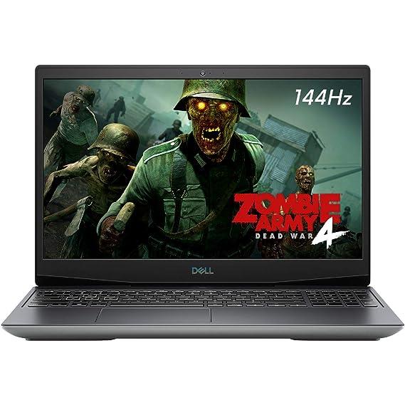 "Dell G5 5505 15.6"" 120Hz FHD Gaming Laptop, AMD Ryzen 7 4800H, Webcam, Backlit Keyboard, USB-C, HDMI, Nahimic 3D Audio, 6GB AMD Radeon RX 5600M, Win 10, 16GB RAM, 512GB PCIe SSD (2020 Model)"