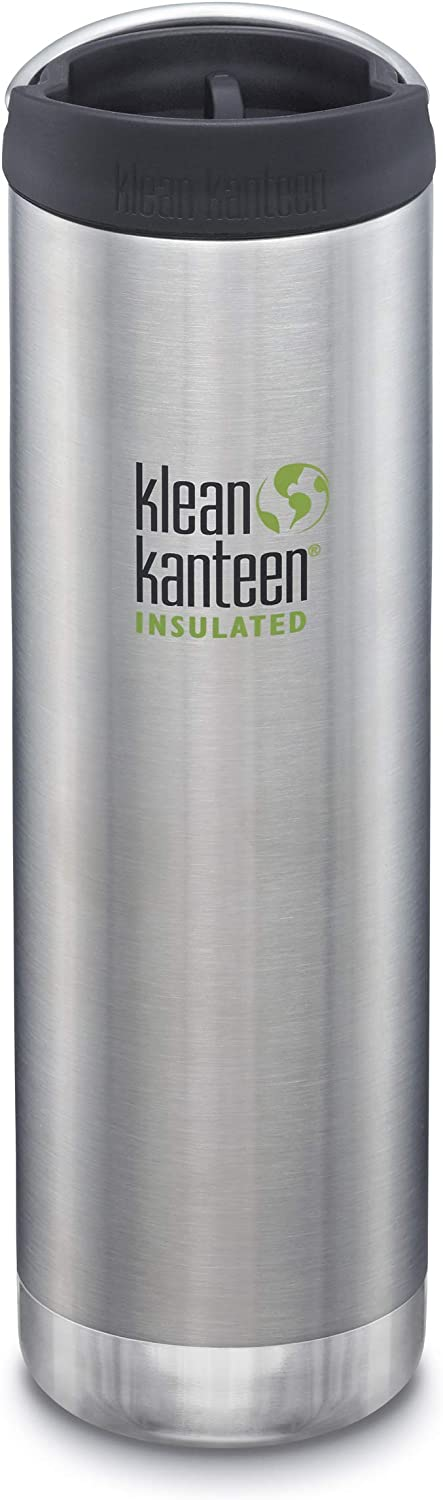 OFFicial site Klean Kanteen TKWide 591ml Insulated Dealing full price reduction Bottle Cafe Brushed Sta Cap