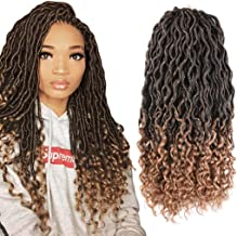 Best crochet curly faux locs hairstyles Reviews