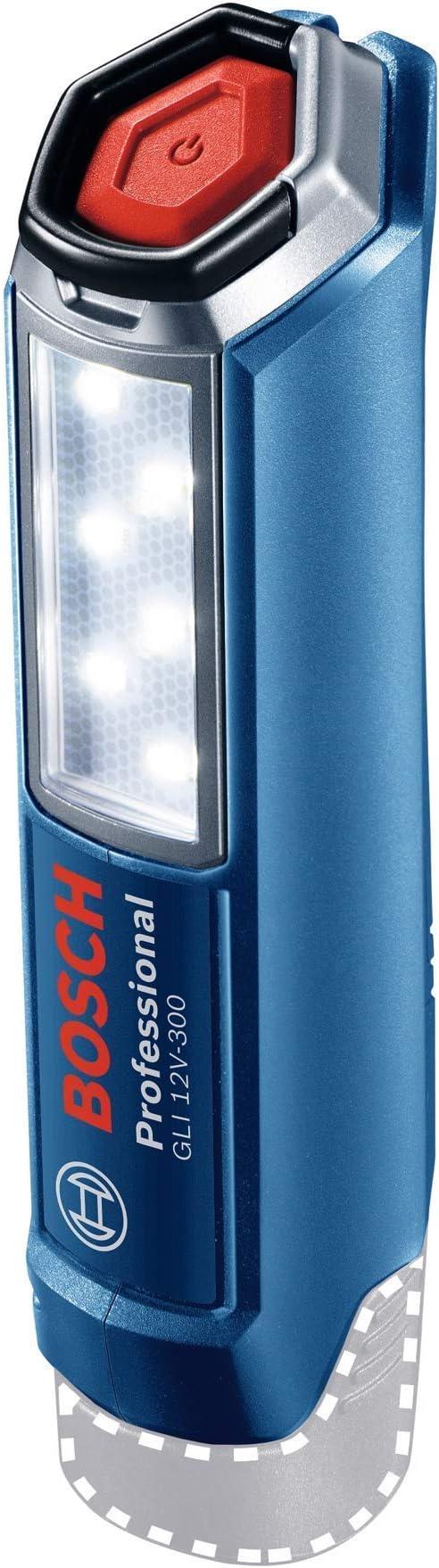 506 opinioni per Bosch Professional 12V System Luce a LED a batteria GLI 12V-300 (300 Lumen,