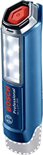 Bosch Professional 06014A1000 12 V System GLI 12V-300 Cordless LED Torch (300 Lumens, Excluding Rechargeable Batteries and...