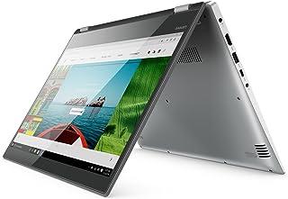 Lenovo Yoga 520 2-in-1 Laptop, Intel Core i7-8550U, 14.0 Inch, 1TB HDD + 128GB SSD, 16GB RAM, Nvidia MX130, Win10, Eng-Ara KB, MINERAL GREY