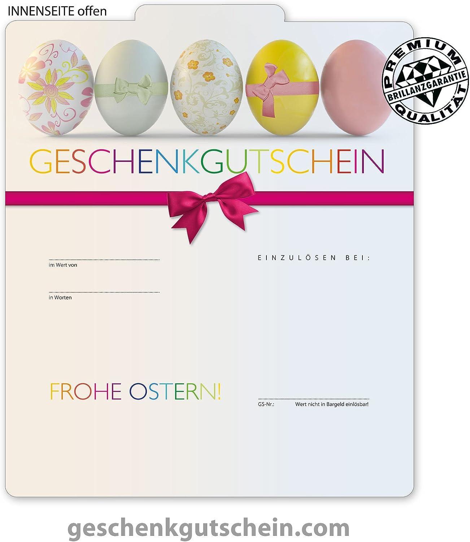 50 Stk. Premium Geschenkgutscheine Gutscheine zum Falten MultiFarbe    für Ostern U206, LIEFERZEIT 2 bis 4 Werktage  B00J8GH370 | Sonderkauf  2cfb48