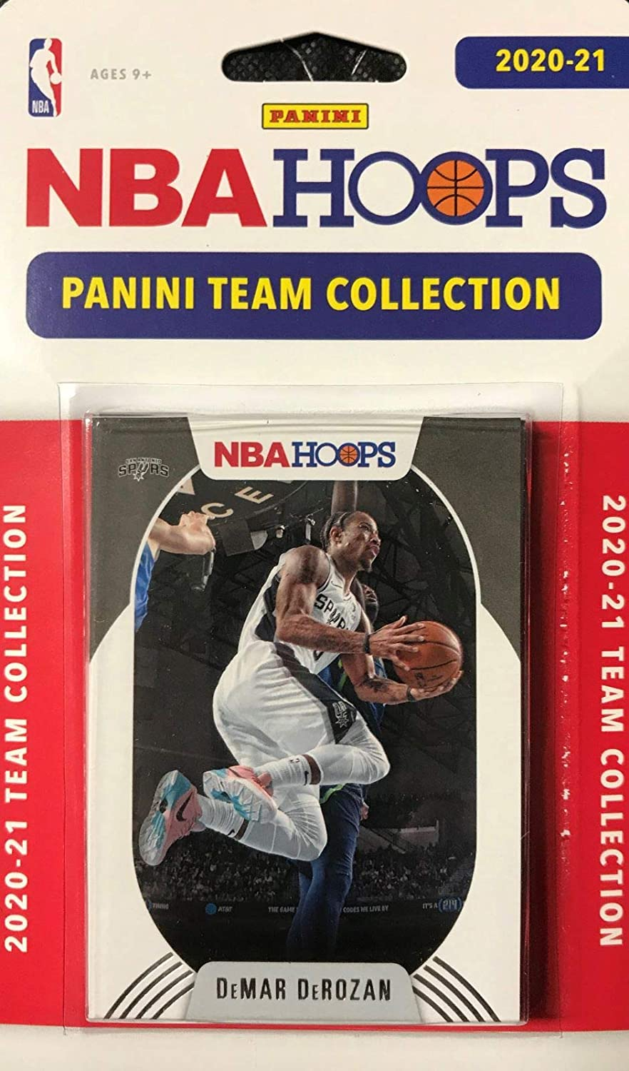 San Antonio Spurs 2020 2021 Hoops Super popular specialty store R Set Popular With Team Factory Sealed
