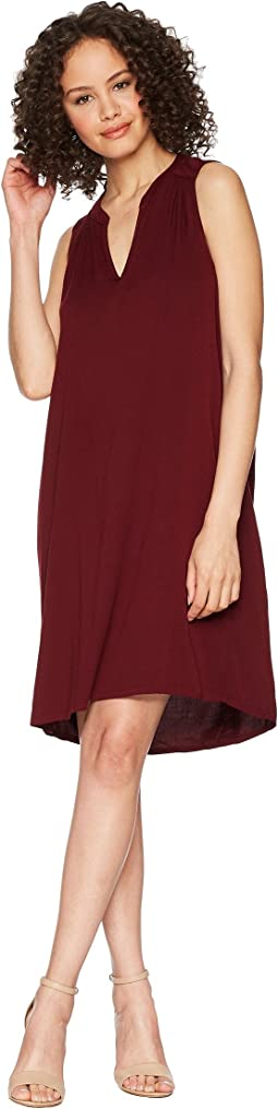 Rylie Rayon Sleeveless V-Neck Dress