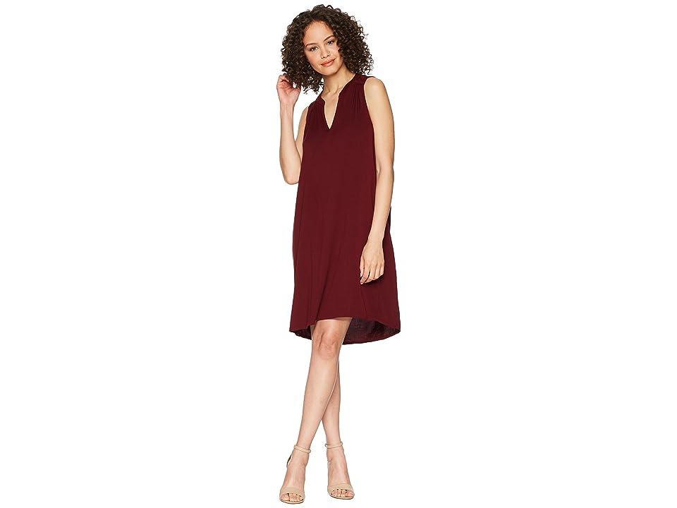 Michael Stars Rylie Rayon Sleeveless V-Neck Dress (Rialto) Women