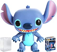 Funko Pop! Disney Series 1: Stitch Vinyl Figure (Bundled with Pop Box Protector Case)