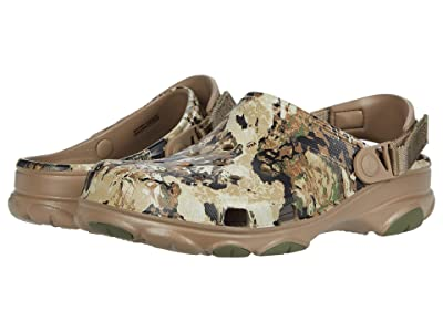 Crocs Classic All Terrain Veil Whitetail Clog (Khaki) Shoes