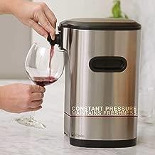 Boxxle BX002013 Box wine Dispenser, 3-Liter, Stainless Steel