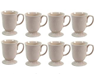 The Pioneer Woman Cowgirl Lace 4-Piece Mug Set, Linen 2-Pack