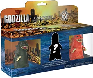 Funko Mystery Minis: Godzilla 3 Pack, Multicolor