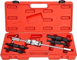 8MILELAKE Blind Inner Bearing Puller Set 5pcs Slid Hammer Puller Tool