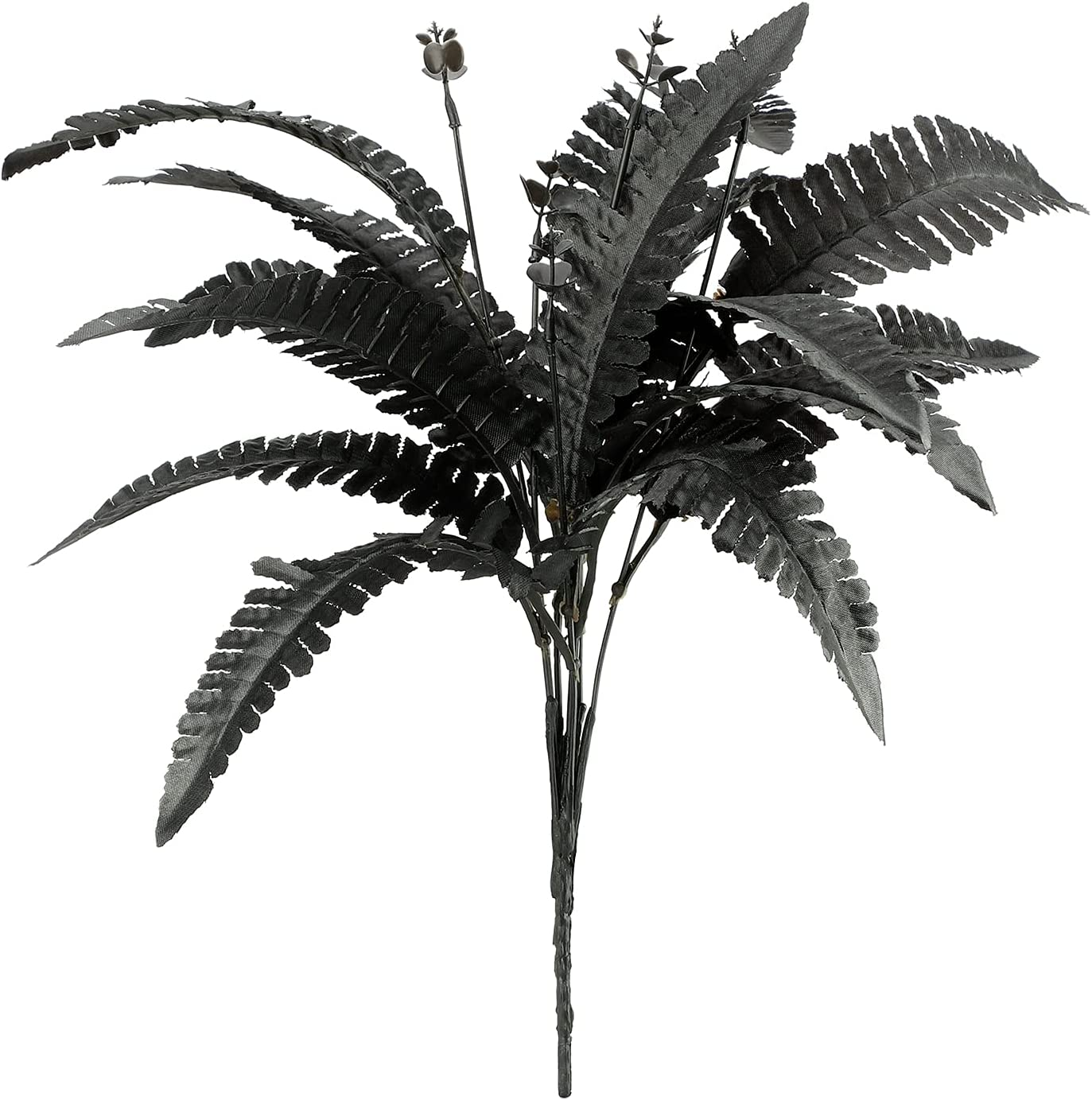 JFBUCF Los Angeles Mall 5pcs Artificial Persian Leaves Ferns Black Fake Pers Silk Selling rankings