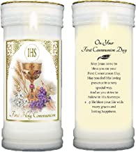 Widdle Celebrations Pillar Candle and Holder First Holy Communion Keepsake Gift 6908, 608631436788
