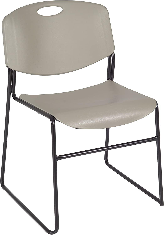 Regency Zeng Stack Chair, Grey