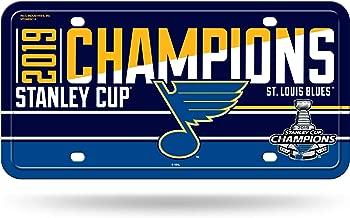 Rico Industries NHL St. Louis Blues Metal License Plate Tagmetal License Plate Tag, Blue, 12