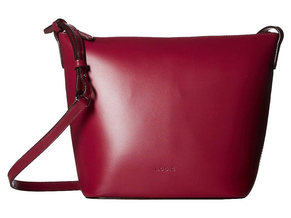 e4994d8495 Lodis Accessories Audrey RFID Camilla Bucket Crossbody (Berry Avocado) Cross  Body Handbags